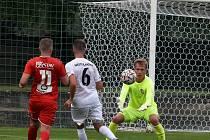 Fotbalisté Sokola Lanžhot doma prohráli se Startem Brno 1:2.