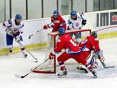 Zápas se Slovenskem byl poslední možností českých hokejistů přesvědčit trenéry o nominaci na MS do Soči.