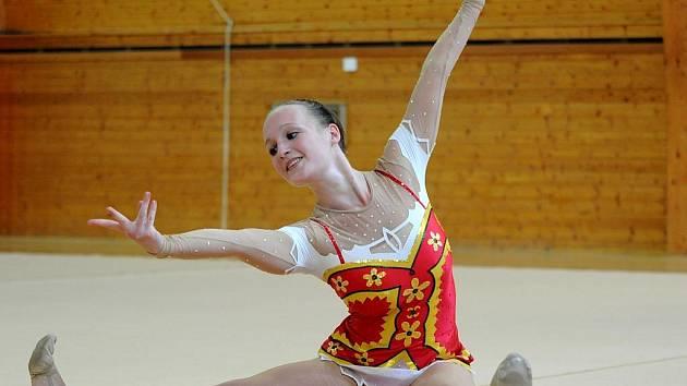 Břeclavská gymnastka Jana Šragová.