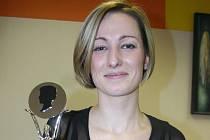 Kadeřnice Lenka Vašků vyhrála podruhé v řadě prestižní soutěž moravských kadeřníků.