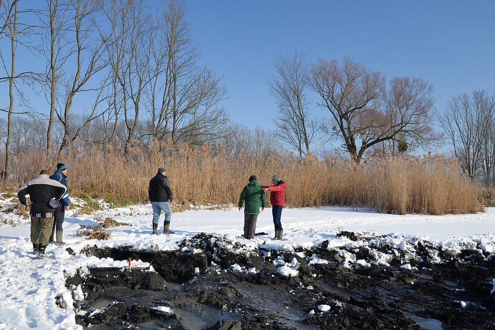 Teploty pod nulou přejí revitalizaci krajiny v lednickém Pastvisku.
