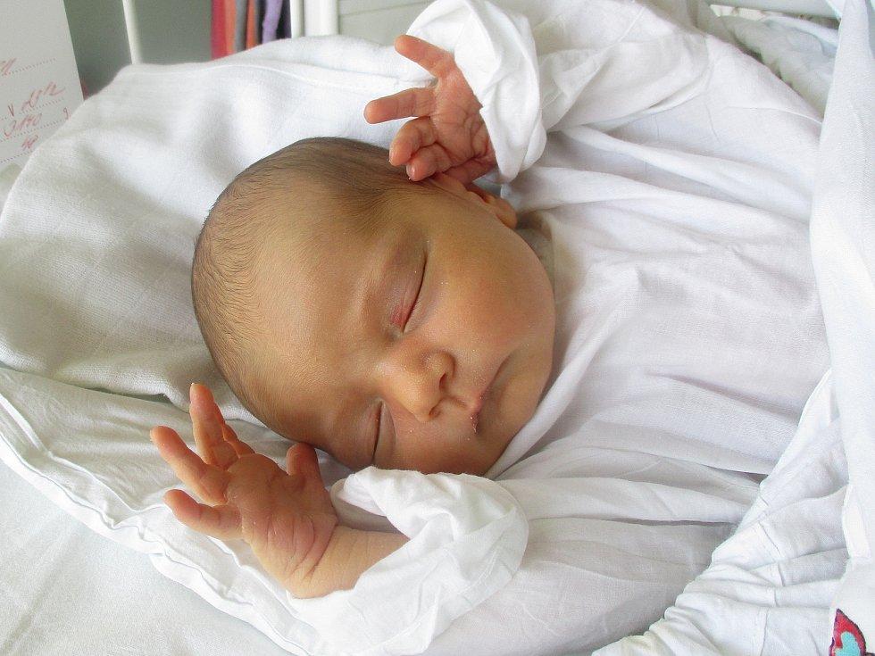 Šarlota Lopuch, Hodonín, 30. března 2020, 23.12, Nemocnice Břeclav, 48 centimetrů, 3140 gramů.