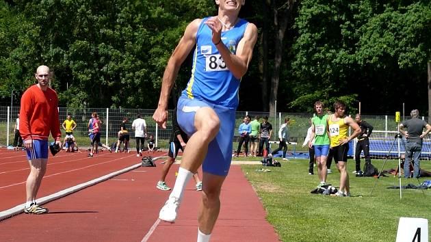 Radek Juška patří momentálně k největším talentům břeclavské atletiky.