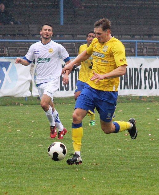 Břeclavští fotbalisté uhráli remízu 3:3.