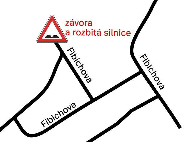 Obyvatelé Břeclavi se přou opřístup ke svým pozemkům na konci Fibichovy ulice vokresním městě. Problémem je soukromá silnice.