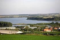 Rybník Nesyt u Sedlece na Mikulovsku.