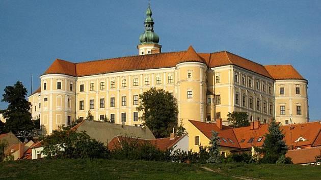 Mikulovský zámek.