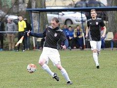 Fotbalisté Sokolu Lanžhot s novým trenérem Jozefem Nemčovičem na lavičce prohráli na úvod jarní části sezony na hřišti Bosonoh 1:2.