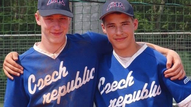 Jakub Holobrádek (vlevo) se pral o účast na MS juniorů i se svým mladším bratrem Michalem.