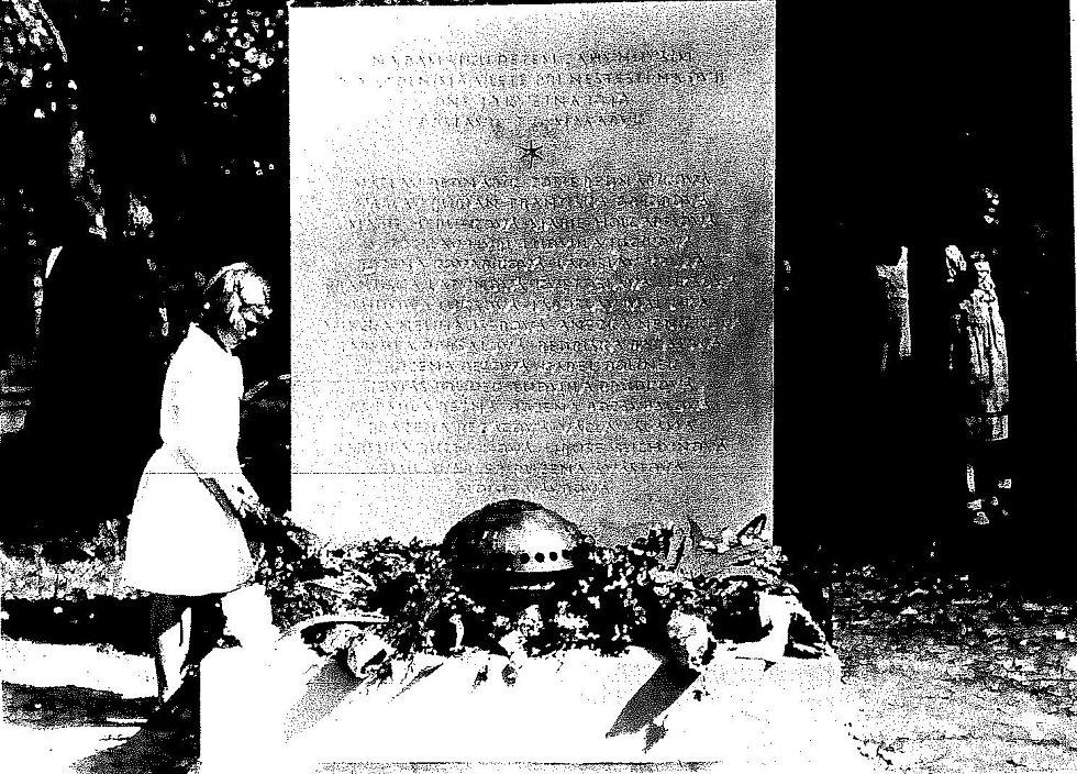 Památník za utonulé děti v řece Dyji.