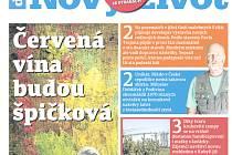 Titulka posledního zářijového týdeníku Nový život s volebním speciálem.