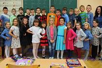 Žáky 1. A třídy učí Pavla Čechová.