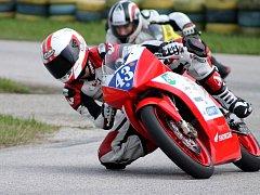 Čtrnáctiletý Břeclavan Petr Jadrný spojil většinu svého života s motorkami.