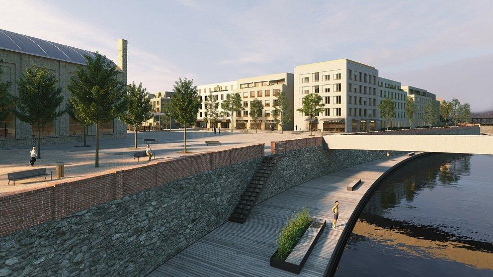 Z bývalého areálu cukrovaru vznikne nová čtvrť v Břeclavi. Vítězný návrh na revitalizaci je z ateliéru Neuhäusl Hunal.