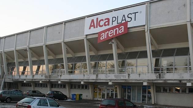 Břeclavský zimní stadion.