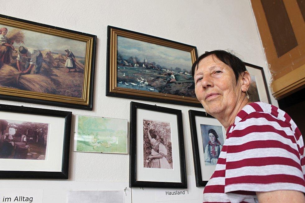 Magdalena Schneiderová je Chorvatkou dosud žijící v Jevišovce.