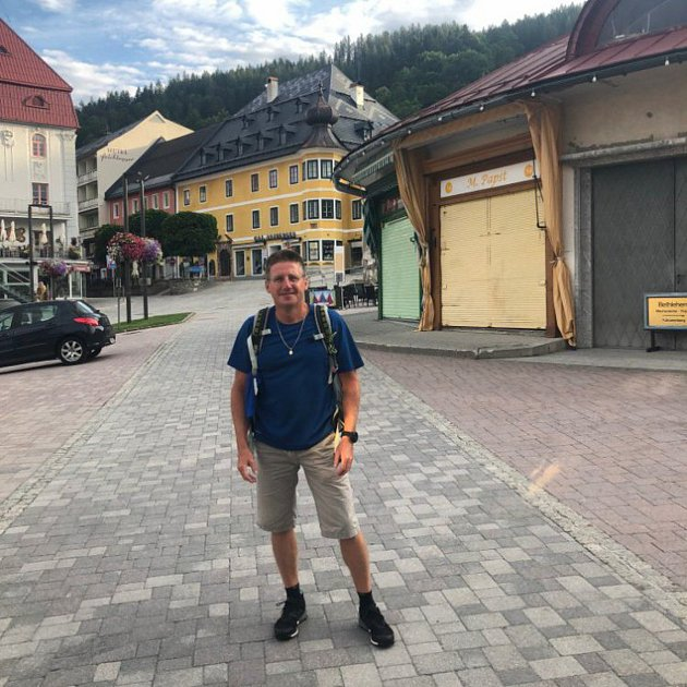Josef Marian Kralovič na cestách.