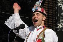 Král slováckého verbuňku 2011 Stanislav Popela z Perné.