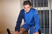Patrik Levčík fotbalista dorostu MSK Břeclav.