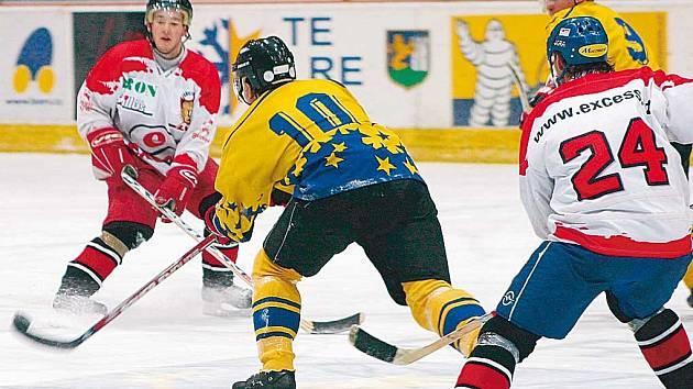 Břeclavští hokejisté