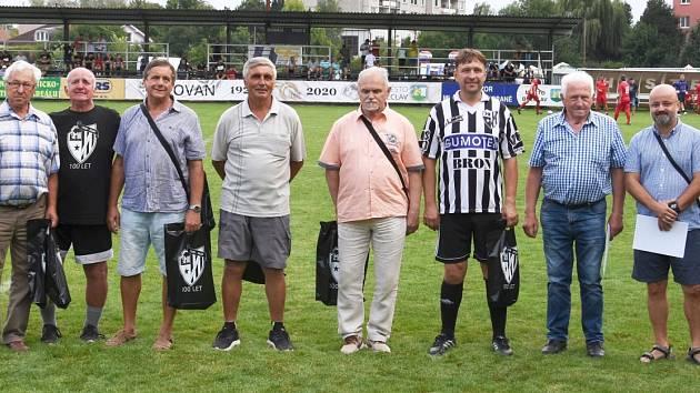 Fotbalový Slovan Břeclav slavil sto let od svého založení.