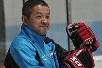 Japonské hokejistky si pobyt na břeclavském zimáku pchvalují.