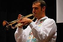Se svojí kapelou zahraje jednačtyřicetiletý trumpetista Vlado Kumpan na koncertě v Praze dechovku. Ocení ho tam další trumpetisté.