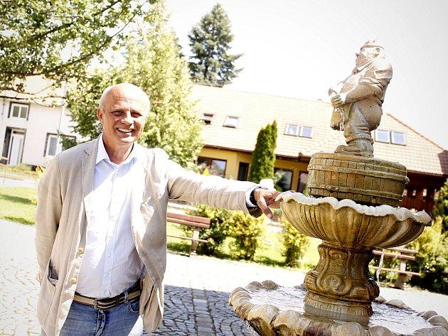 Textař Michal Horáček navštívil Rakvice, kde v minulosti žili jeho předci.