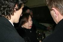 Otevření letošního Salonu vín České republiky se zúčastnila i první dáma Livia Klausová.