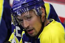 Hokejista David Šebek.
