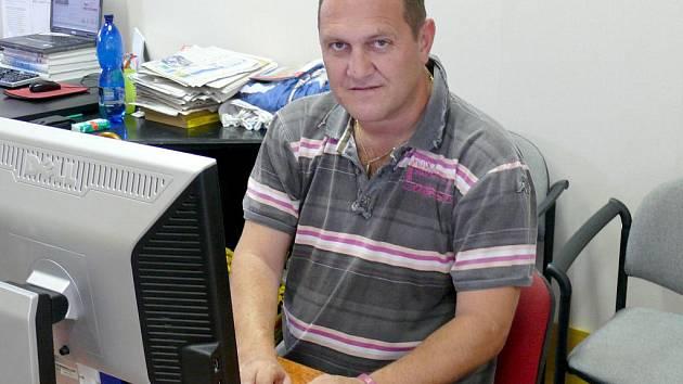Trenér břeclavských Lvů Michal Konečný.