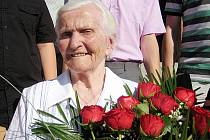 Božena Lengálová ze Šitbořic oslavila sto let.