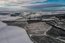 Pohledy z dronu na Boleradice a okolí.
