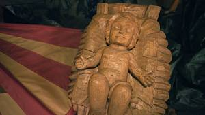 Starou Břeclav o Adventu zkrášlí dřevěný betlém Víta Martince
