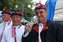 Přes pět set vzorků vín mohli v sobotu ochutnat návštěvníci Letních slavností vína v Dolních Dunajovicích.