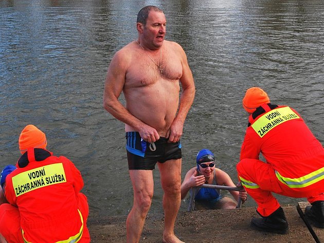 Stanislav Holub z Ladné se letos Vánočního kilometru zúčastnil už po šesté.