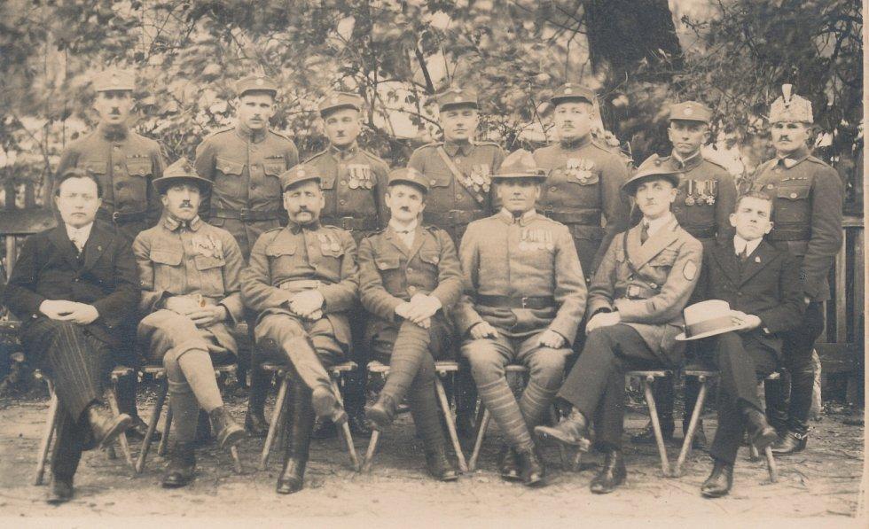 Kloboučtí legionáři z 30. let minulého století.