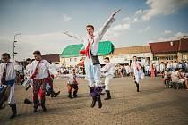 Alespoň nedělní hodečky místo velkých hodů uspořádali organizátoři koncem července v Moravské Nové Vsi zasažené tornádem.