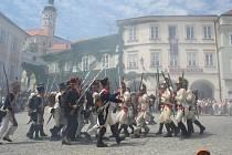 Francouzsko-rakouské střety po dvou stech letech, a to v Mikulově