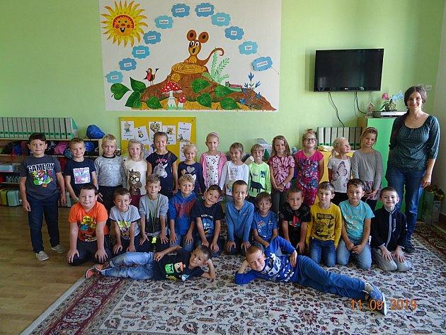 Žáky 1.třídy Základní školy vPodivíně učí Zuzana Pálková.