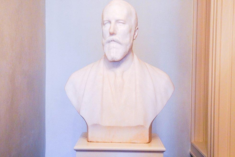 Apartmán Františka I. z Lichtenštejnu (1853-1938). Byl to poslední kníže, který na valtickém zámku bydlel.