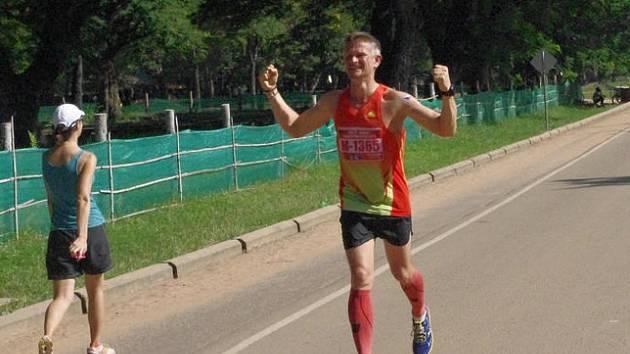 Maratonec Vít Jonáš.