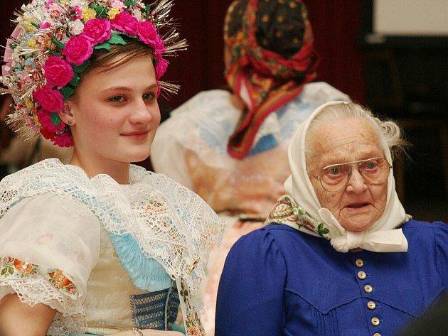 Setkání stárků ve Velkých Pavlovicích. Ilustrační foto.