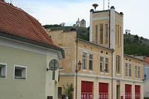 Bývalá hasičská zbrojnice v Mikulově.