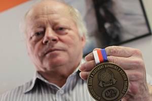 Šéf silových trojbojařů z Podivína Vladimír Svoboda.