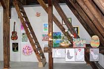 V břeclavské Duhovce vznikla na půdě nová galerie.