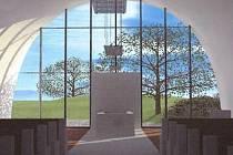 Nynější smuteční síň u městského hřbitova v Břeclavi nahradí brzy nová. Hotová má být v červenci roku 2018.