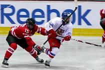 Memoriál Ivana Hlinky v Břeclavi (ČR vs Kanada).