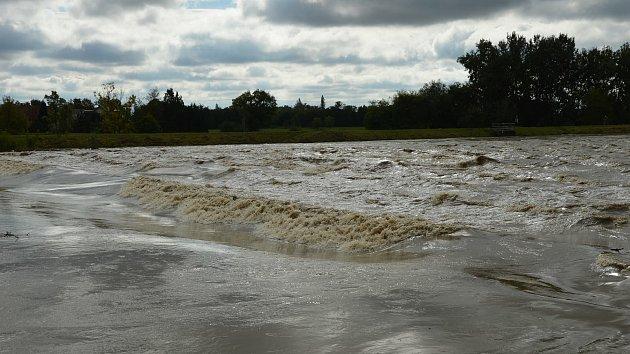 Morava v Lanžhotě dosáhla třetího stupně povodňové aktivity