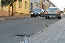 Smetanova ulice v Hustopečích bude již brzy jednosměrná.